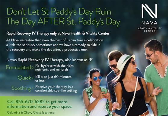 St. Patrick's Day IV Therapy | Nava Health