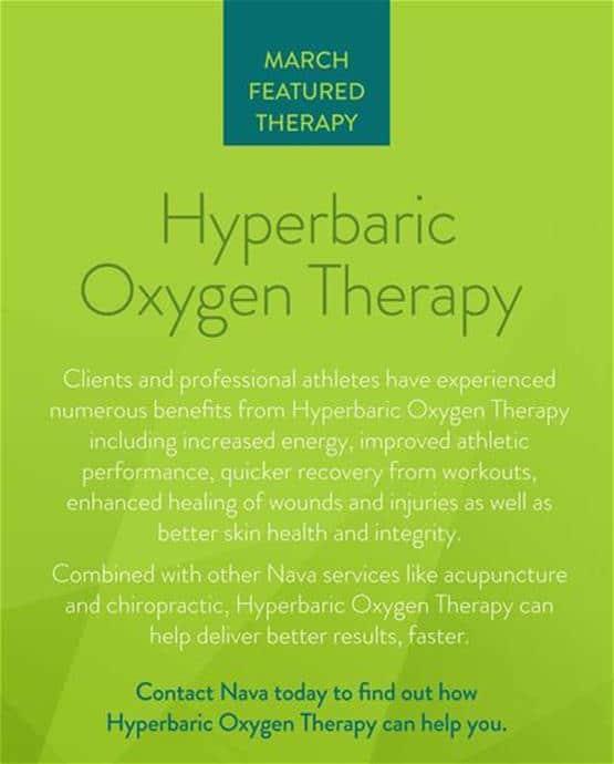Hyperbaric Oxygen Therapy | Nava Health
